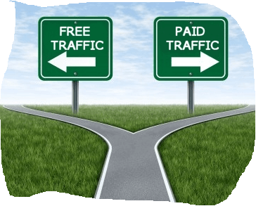 Traffic Gratis VS Traffic Berbayar